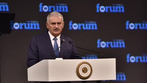 Turkey's PM condemns Mogadishu attack and calls for an end to EU racism