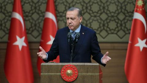 Erdogan says Kurds are same as Turkmen and Arabs