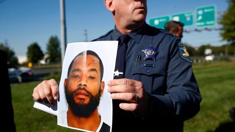 Gunman kills three in Maryland before fleeing