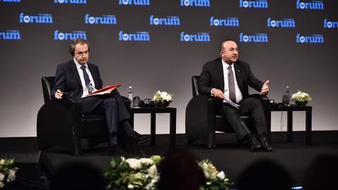 Turkey's FM Cavusoglu calls on EU leaders to tackle xenophobia