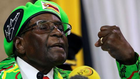 Mugabe removed as WHO goodwill ambassador after global outrage