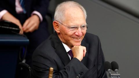 German lawmakers elect Schaeuble as speaker to tackle far-right