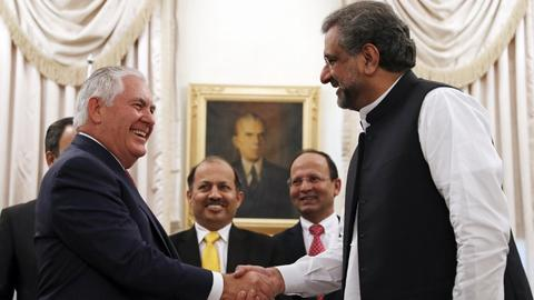 Pakistan PM tells Tillerson it has