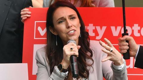 Jacinda Ardern sworn in as New Zealand PM