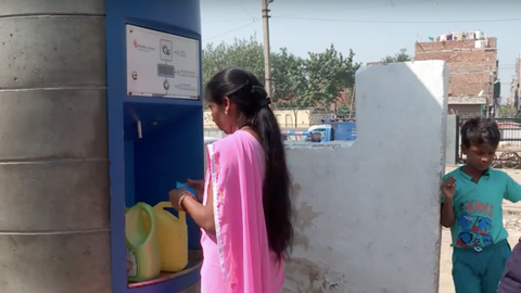 ATMs in Delhi provide clean water amid growing water shortage