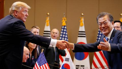 Trump heads to Seoul seeking a solution to the North Korea crisis
