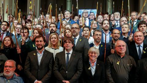 Ex-Catalan leader slams the European Union for backing Spanish PM