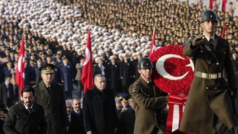 Turkey remembers Ataturk on the 79th anniversary of his death
