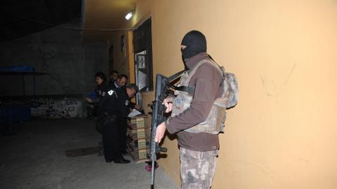 Turkey detains more than 100 foreign suspects in anti-Daesh operation