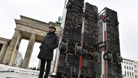 German-Syrian artist showcases Aleppo monument in Berlin