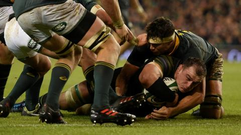 Irish post record win against South Africa