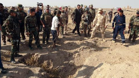 Mass graves of suspected Daesh victims found in Iraq's Hawija