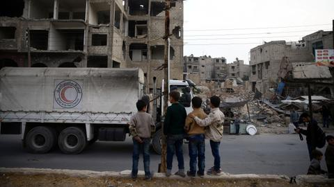 Syrian regime guilty of war crimes, says Amnesty International