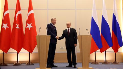 Turkey and Russia agree to deepen relations