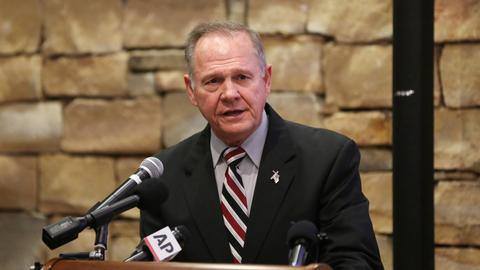 Alabama Republican candidate Moore asked to 'step aside'