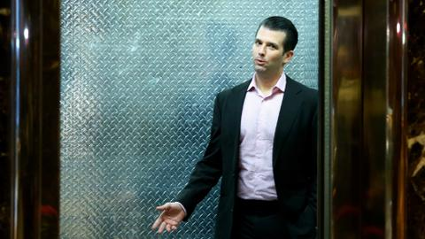 Donald Trump Jr releases messages he exchanged with WikiLeaks