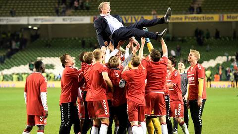 Hat-trick hero Eriksen books Denmark's World Cup spot