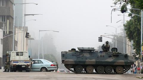 Zimbabwe's coup that's not being called a coup