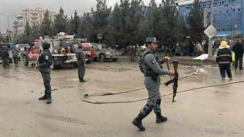 At least 14 dead in Afghanistan suicide attack