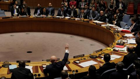 Russia vetoes renewal of UN's chemical attacks inquiry in Syria