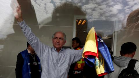 Venezuela opposition leader Ledezma flees to Spain