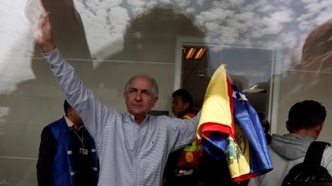 Venezuela opposition leader Ledezma flees to Spain