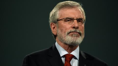 Gerry Adams to step down as Sinn Fein leader after 34 years
