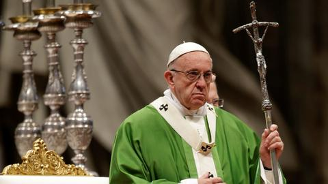 Pope says helping poor is a
