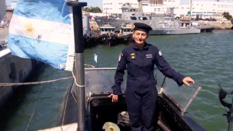 Stormy weather hampers search for Argentinian submarine