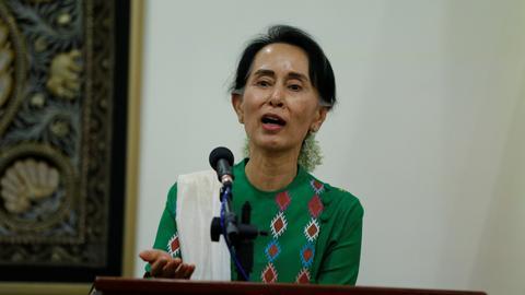Myanmar's Suu Kyi hopes for Rohingya repatriation deal with Bangladesh