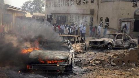 At least 50 dead in suspected Boko Haram attack in Nigeria