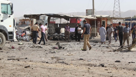 Truck bomb in northern Iraqi town kills at least 20