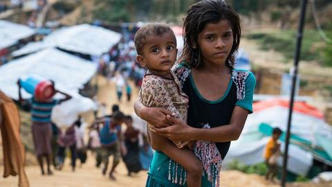 Danger lurks in Bangladesh camps for Rohingya children