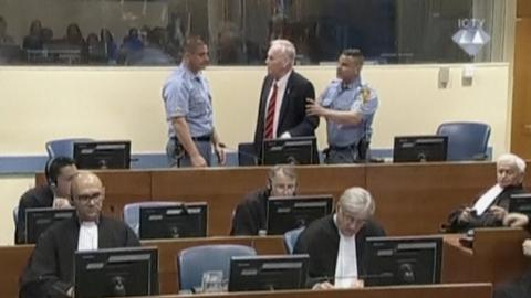 Ratko Mladic convicted of genocide, sentenced to life in prison