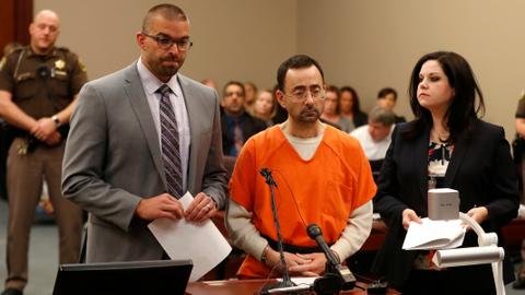Former US gymnastics doctor pleads guilty to sex charges