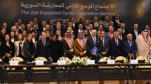 Syrian opposition HNC meeting in Riyadh sees no transition role for Assad
