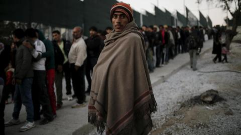 Greece vows greater effort to protect refugees over winter