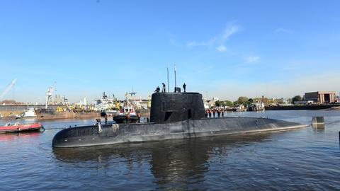 'Explosion' heard near submarine's last known position: Argentina navy