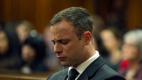 South African court doubles Pistorius sentence to 13 years 5 months
