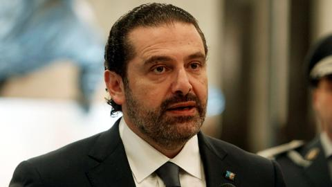 Hariri says Hezbollah positions affecting Arab allies are unacceptable