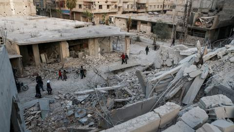 Renewed Syrian regime bombing kills 18 in Eastern Ghouta