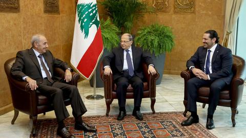 Hariri says Hezbollah must remain neutral to ensure Lebanon moves forward