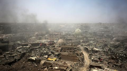 Mosul's families are returning to rubble