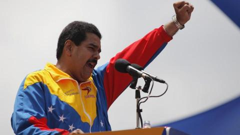Venezuela's Maduro to seek second term in next year's election