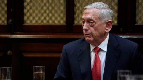 Mattis signals military shift in Syria to reflect Daesh defeat