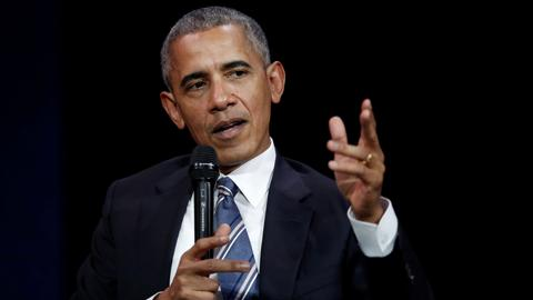 Obama laments lack of US leadership on climate change