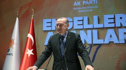 No limits on capital movement abroad, Erdogan says