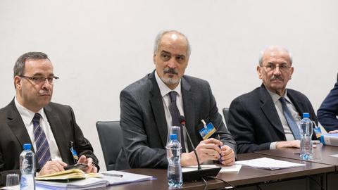 Regime delegation to return to Syria peace talks