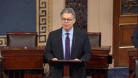 US Senator Al Franken to resign over sexual misconduct allegations