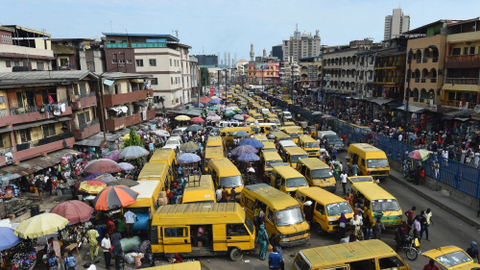 Nigeria's biggest city looks to the waterways as traffic clog roads